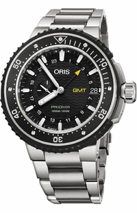 Oris ProDiver GMT Titanium Men's Watch 74877487154MB