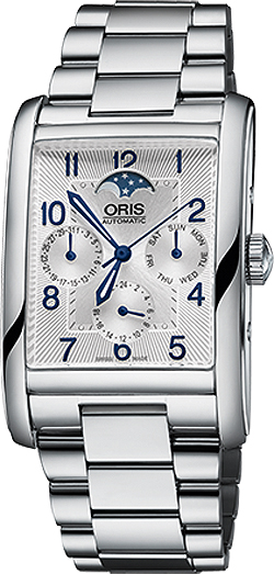 Oris Rectangular Complication Men's Watch 58276944031MB