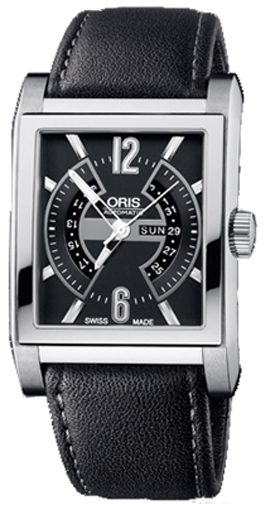 Oris Rectangular Titan Day Date 58576227064LS