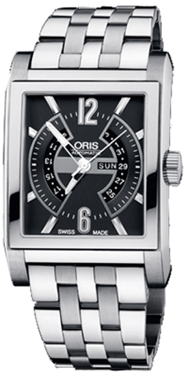 Oris Rectangular Titan Day Date 58576227064MB