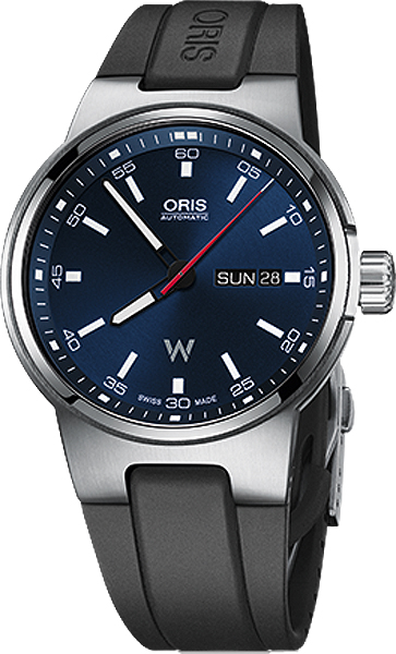 73577164155rs Oris Williams Day Date Mens Automatic Watch