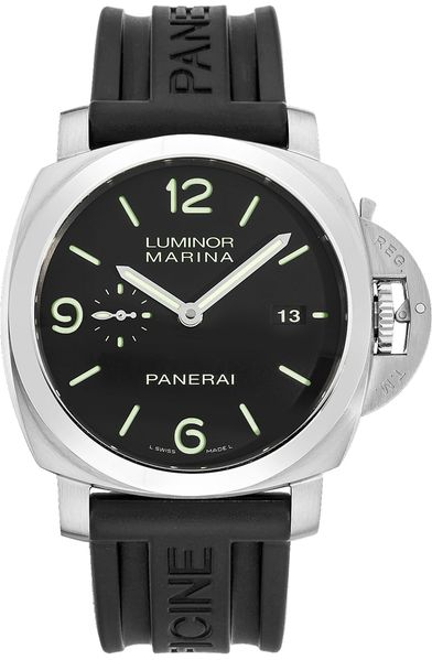 Panerai Luminor Black Dial Men's Watch PAM00312