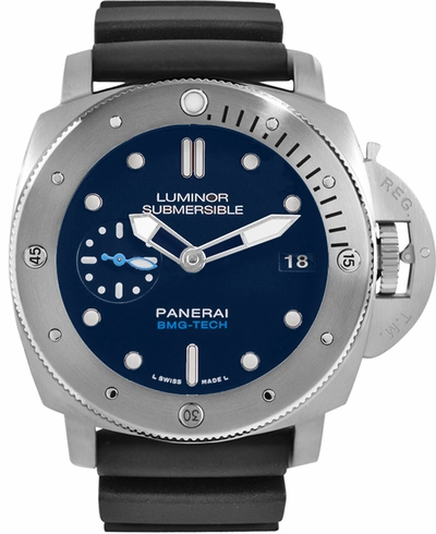 Panerai Luminor Blue Dial Men's Watch PAM00692
