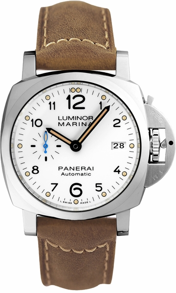 Panerai Luminor White Dial 42mm Men's Watch PAM01523