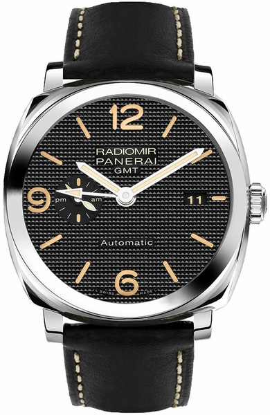 Panerai Radiomir 1940 GMT 3 Days Men's Watch Limited Edition PAM00627
