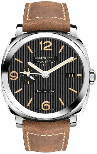 Panerai Radiomir 1940 GMT 3 Days Power Reserve Limited Edition Men's Watch PAM00657