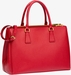 Women's Red Prada Saffiano Lux Medium Double-Zip Tote Bag - image 1