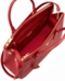 Women's Red Prada Saffiano Lux Medium Double-Zip Tote Bag - image 3