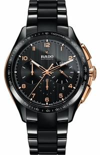 Rado HyperChrome Automatic Black Dial Men's Watch R32111162