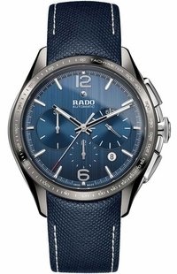 Rado HyperChrome Automatic Blue Fabric Strap Men's Watch R32120205