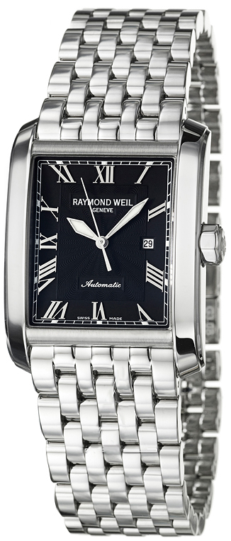 2671-ST-00209 Raymond Weil Don Giovanni Automatic Mens Black Dial ...