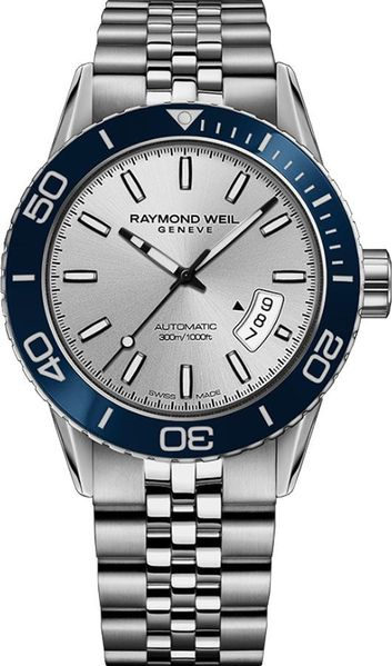 Raymond Weil Freelancer Silver Dial Men's Watch 2760-ST4-65001