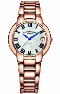 Raymond Weil Jasmine Rose Gold Tone Women's Watch 2935-P5-01970