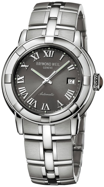 Raymond Weil Parsifal Automatic Roman Gray Dial Mens Watch