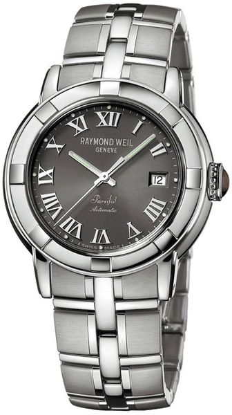 Raymond Weil Parsifal Grey Dial 39mm Men's Watch 2841-ST-00608