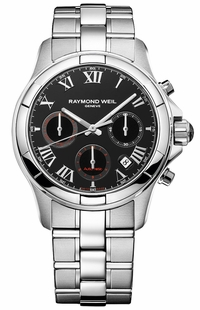 Raymond Weil Parsifal Black Dial Men's Watch 7260-ST-00208