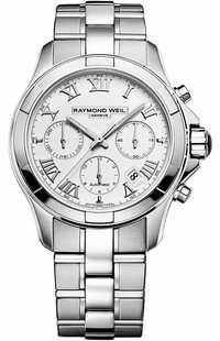 Raymond Weil Parsifal White Dial Men's Watch 7260-ST-00308
