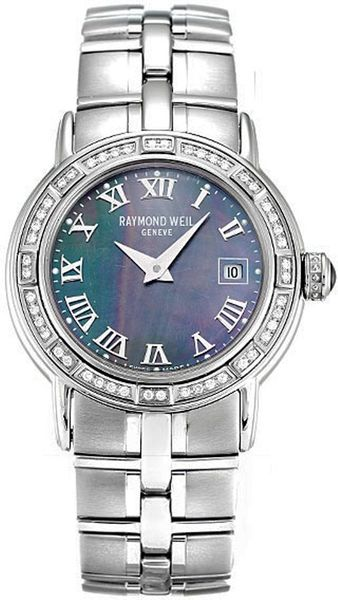 Raymond Weil Parsifal Diamond Bezel Women's Watch 9441-STS-00278