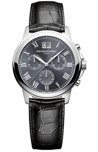 Raymond Weil Tradition Grey Dial Men's Watch 4476-STC-00600