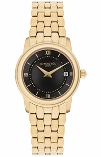 Raymond Weil Tradition Black Dial Women's Watch 5398-P-00207