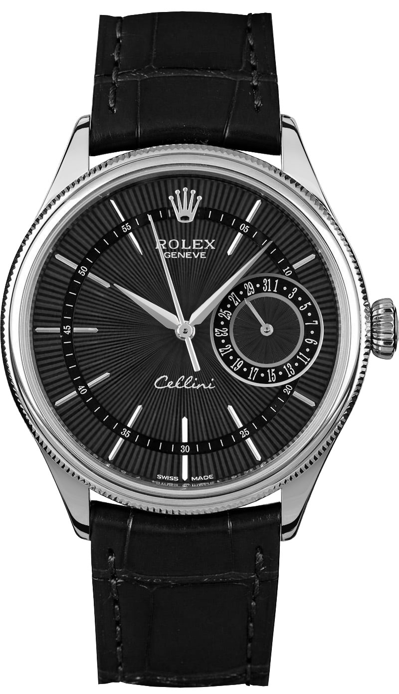 50519 rolex cellini date white gold watch for Rolex cellini
