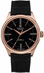 Rolex Cellini Time Black Dial Men's Watch 50505