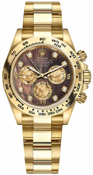 Rolex Cosmograph Daytona Gold Men's Watch 116508