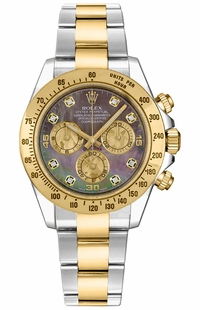 Rolex Cosmograph Daytona Gold & Steel Watch 116523