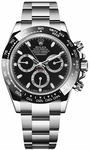 Rolex Cosmograph Daytona Men's Black Dial Watch 116500LN