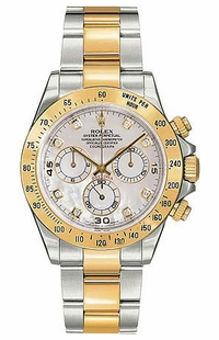 Rolex Cosmograph Daytona Two Tone Men's Watch 116523