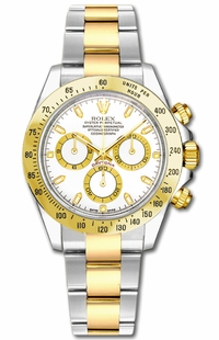Rolex Cosmograph Daytona White Dial Men's Watch 116523