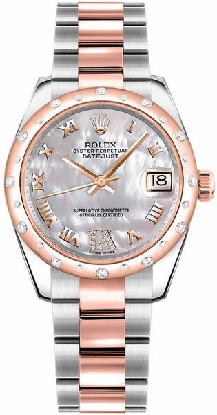 Rolex Datejust 31 Automatic Ladies Watch 178341