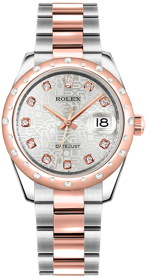 Rolex Datejust 31 Stainless Steel & Rose Gold Watch 178341 Rose Gold Women's Watches