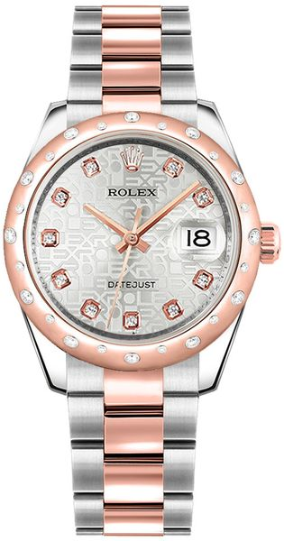 Rolex Datejust 31 Stainless Steel & Rose Gold Watch 178341
