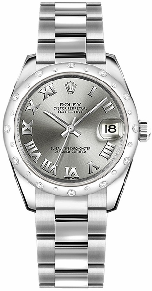 Rolex Datejust 31 Roman Numeral Dial Watch 178344