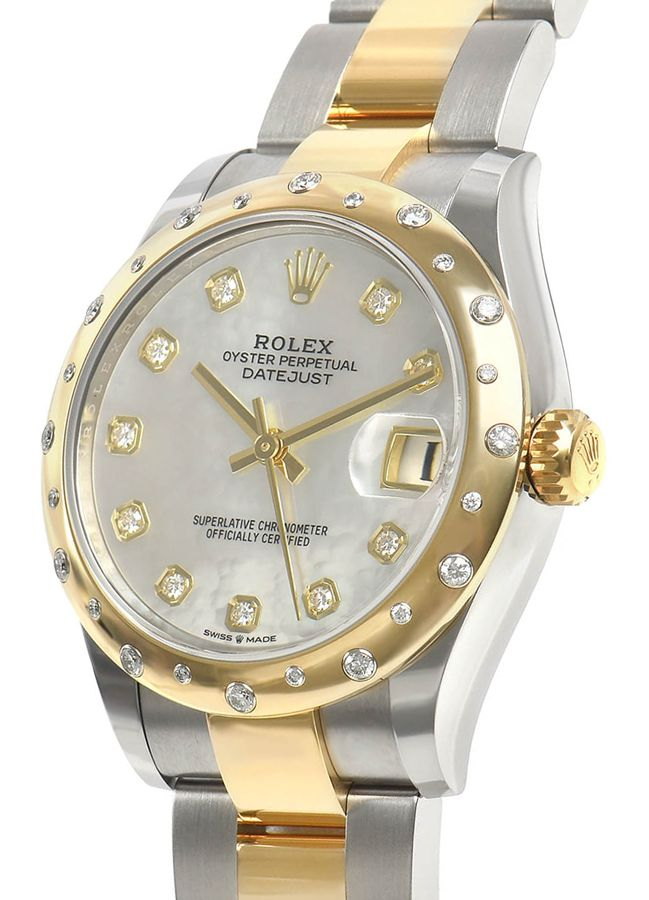 Rolex Datejust 31mm Mother of Pearl Womens Watch 278343RBR