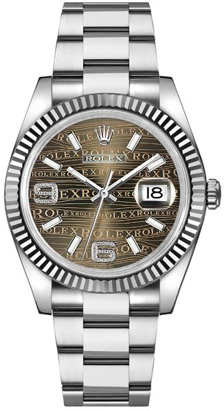 Rolex Datejust 36 Diamond Women's Watch 116234