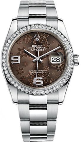 Rolex_Datejust_36_Brown_Floral_Dial_Watch_116244