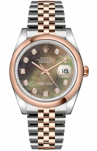 Rolex Datejust 36 Jubilee Bracelet Watch 116201-0098
