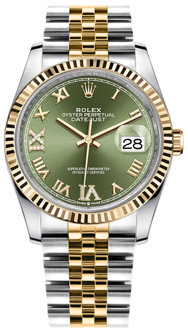Rolex_Datejust_36_Olive_Green_Dial_Midsize_Watch_126233