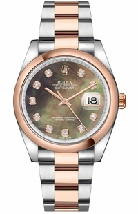 Rolex Datejust 36 Stainless Steel & Rose Gold Watch 116201