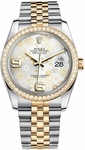 Rolex Datejust 36 Women's Silver Dial 116243