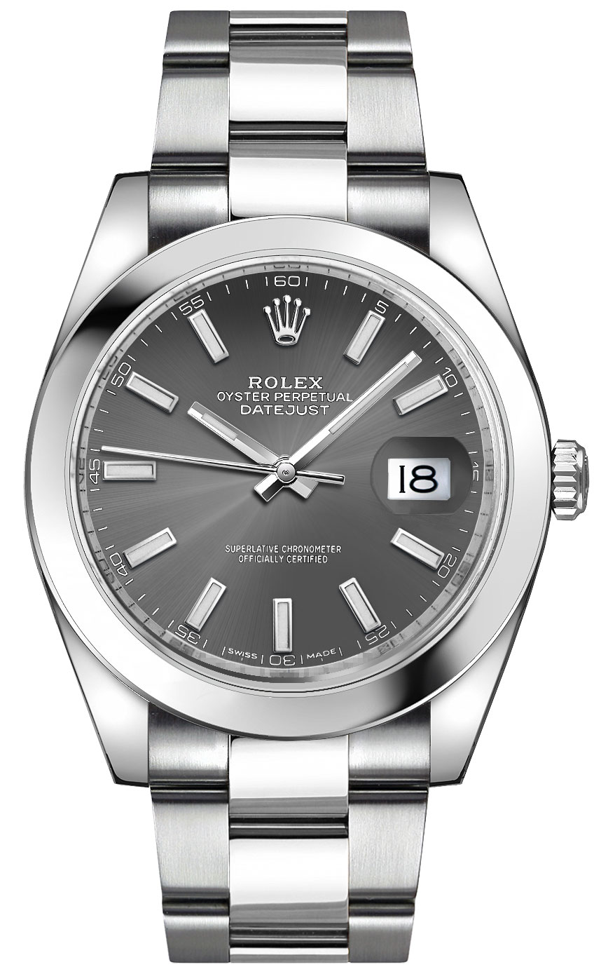 Rolex Datejust 41 Stainless Steel Men's Watch 126300