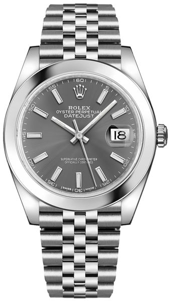 Rolex Datejust 41 Oystersteel Men's Watch 126300-0008