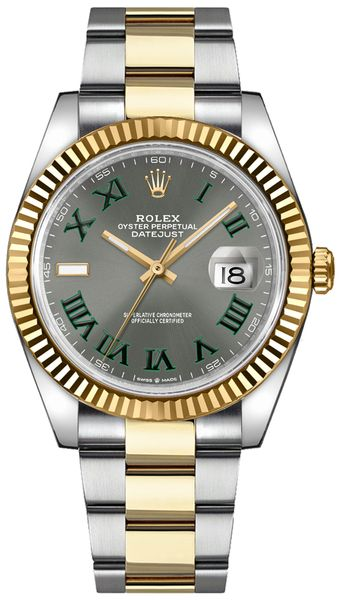 Rolex Datejust 41 Fluted Bezel Men's Watch 126333-0019