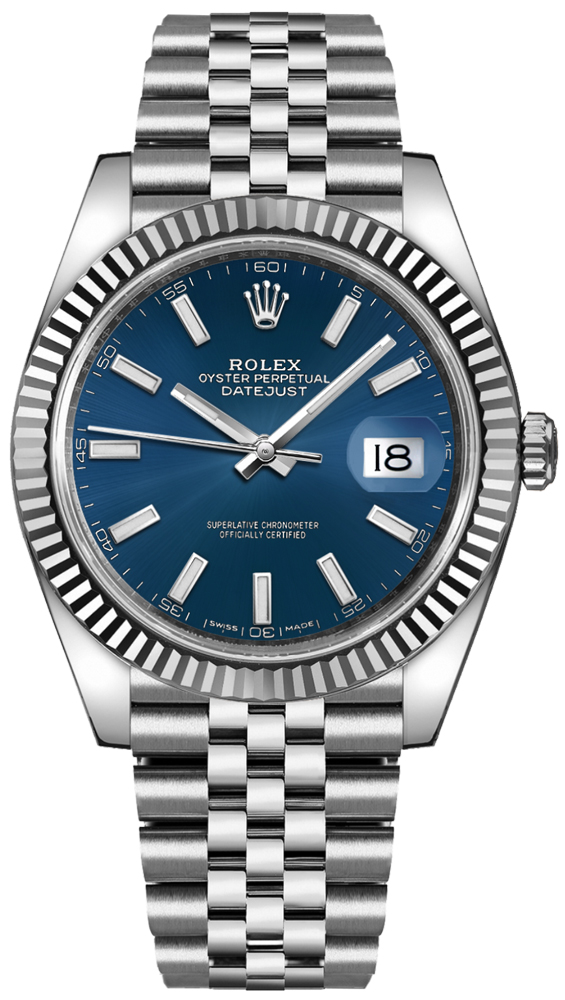 Rolex_Datejust_41_Blue_Dial_Mens_Watch_126334