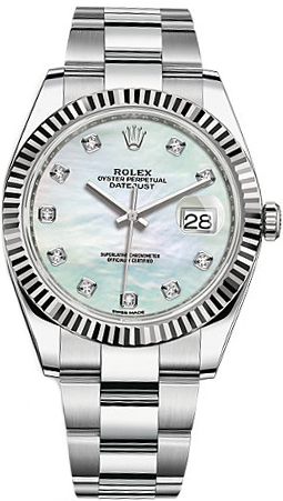 Rolex_Datejust_41_Mother_of_Pearl_Diamond_Dial_Men's_Watch_126334