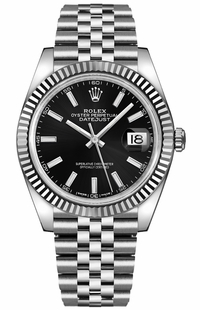 Rolex Datejust 41 Black Dial Men's Watch 126334-0018