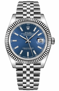 Rolex Datejust 41 Blue Dial Men's Watch 126334-0002
