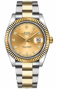 Rolex Datejust 41 Diamond Men's Watch 126333